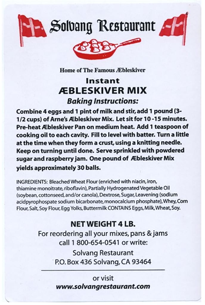 Famous Aebleskiver Mix